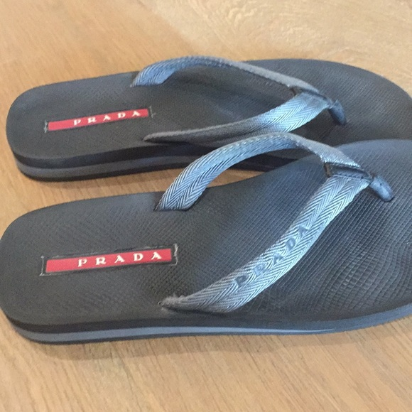 5357b40ba Men s Prada flip flops. M 5b4a65963e0caad42db74927
